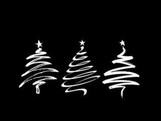 Free Christmas Trees phone wallpaper by missjas