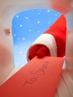Free Letter To Santa phone wallpaper by missjas