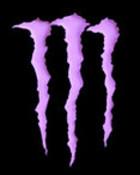 purple monster logo