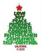 Words of Love Christmas Tree
