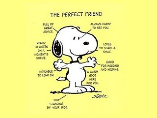 Free Snoopy The Perfect Friend phone wallpaper by missjas