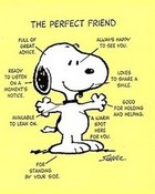 Snoopy The Perfect Friend