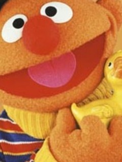 Free lghr16076+ernie-with-rubber-duckie-from-sesame-street-mini-poster.jpg phone wallpaper by xshortstuffx1657