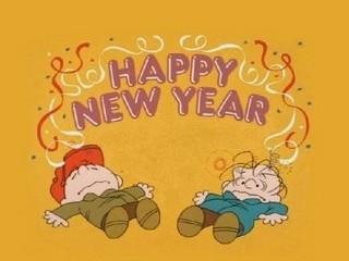 Free Happy New Year Charlie Brown phone wallpaper by missjas