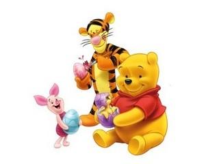 Free Winnie The Pooh Easter phone wallpaper by missjas