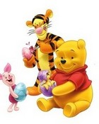 Winnie The Pooh Easter wallpaper 1