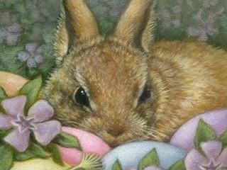 Free Easter Bunny phone wallpaper by missjas