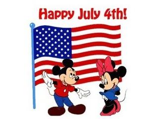 Free Disney Happy July 4th phone wallpaper by missjas
