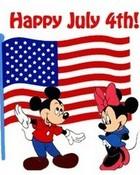 Disney Happy July 4th wallpaper 1