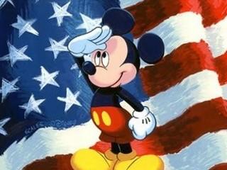 Free Happy 4th Of July Mickey phone wallpaper by missjas