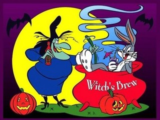 Free Halloween Looney Tunes phone wallpaper by missjas