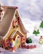 Gingerbread Christmas wallpaper 1