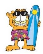 Garfield Surfer
