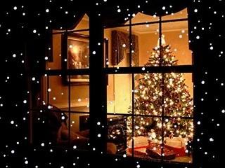 Free Christmas Window phone wallpaper by missjas