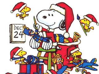 Free snoopy-christmas-cartoon phone wallpaper by maybabii89