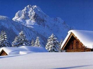 Free Winter Lodge phone wallpaper by missjas