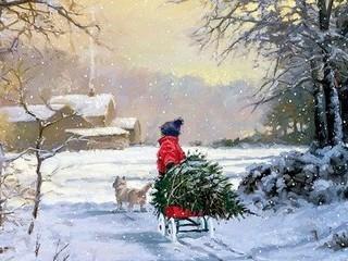 Free Christmas in Lackawanna phone wallpaper by missjas