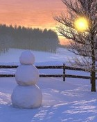 Snowman Simplicity