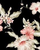 Floral Black Vintage