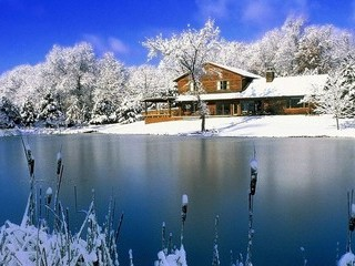 Free Beautiful Winter Lake phone wallpaper by missjas