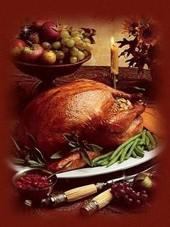 Free Thanksgiving Dinner phone wallpaper by missjas