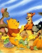 Pooh's Thanksgiving Feast