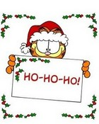 Garfield Christmas HoHoHo