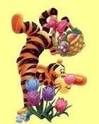 Happy Easter Tigger Style