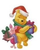 Winnie The Pooh Christmas wallpaper 1