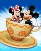 Minnie and Mickey wallpaper 1