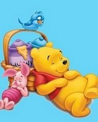 Winnie The Pooh and Piglet wallpaper 1
