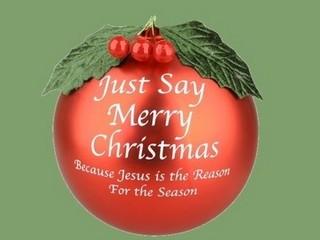 Free Just Say Merry Christmas phone wallpaper by missjas