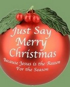 Just Say Merry Christmas