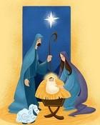 Christmas Manger wallpaper 1