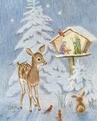 Nature's Christmas wallpaper 1