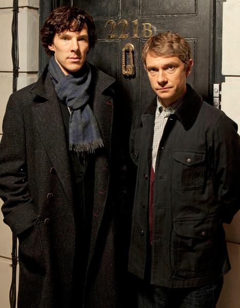 Free Sherlock and John phone wallpaper by kinseyx