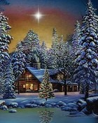 Peaceful Christmas Night wallpaper 1