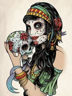 Free sugar-skull.jpg phone wallpaper by bullseye275