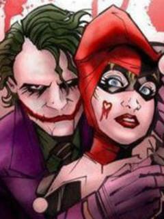 Free The Joker and Harley Quinn.jpg phone wallpaper by keke2013