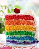 Free Rainbow Cake phone wallpaper by sh0kr0k