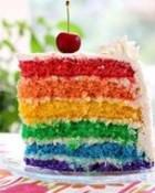 Rainbow Cake wallpaper 1