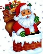 Free santa phone wallpaper by maris