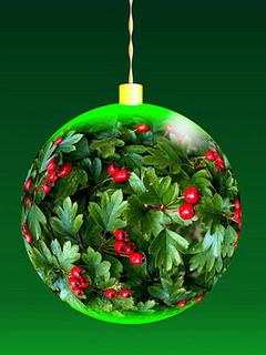 Free Christmas Ornament phone wallpaper by missjas