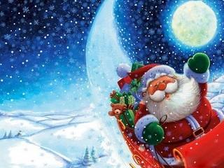 Free Santa Claus phone wallpaper by missjas
