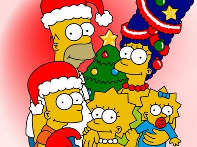 Free Simpson christmas photo phone wallpaper by twifranny