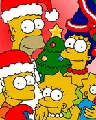 Simpson christmas photo