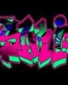 jazmine in graffiti