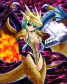 Five Headed Dragon girl wallpaper 1