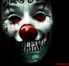 Free scary clown phone wallpaper by driftydarkstar