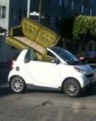 smart car moves alot